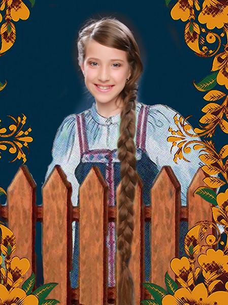 Мария Носкова, «Уральская краса – русская коса», фото