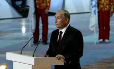 Олимпиада в Сочи-2014: Путин дал старт эстафете