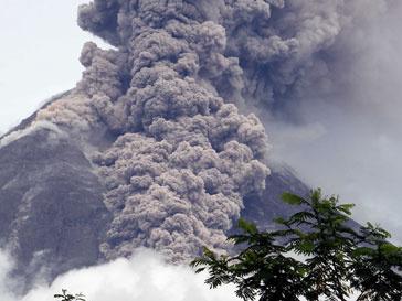 Вулкан заставил местных жителей покинуть свои дома