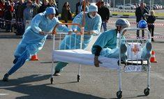 «Формула-1» по-воронежски: чемпионат по гонкам на кроватях