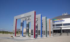 В Красноярске появилась Аллея олимпийской славы