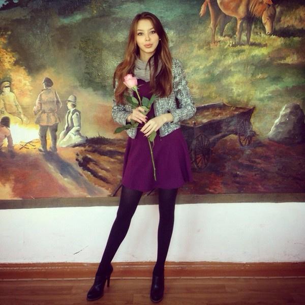Воронежская девушка на конкурсе «Студентка России-2016»