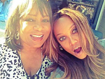 Тайра Бэнкс (Tyra Banks) с мамой