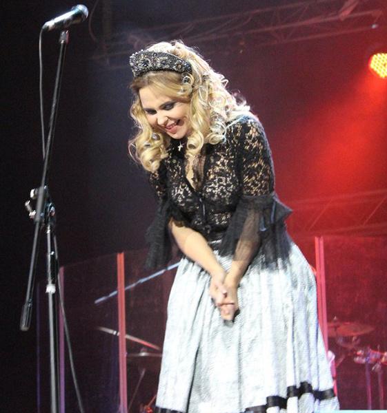 Пелагея, концерт в Екатеринбурге
