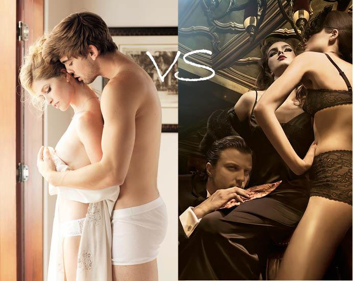 Секс в 20 и 30 лет