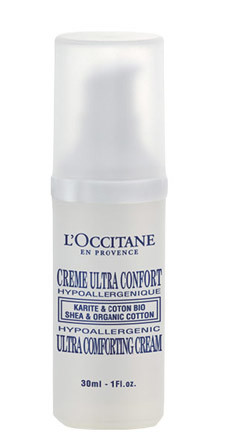 Крем для лица «Карите и Хлопок» от L'Occitane. Питает и увлажняет даже самую чувствительную кожу благодаря высокому содержанию питательного масла карите и экстракту органического хлопка.