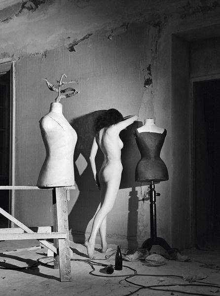 Стен Дидрик Белландер. Студия во время ремонта. 1949 год.