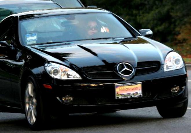 Мисс Спирс уже колесит по Голливуду на новом Mercedes Benz