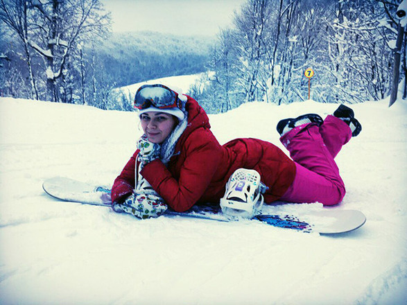 девушки и сноуборд фото участницы конкурса