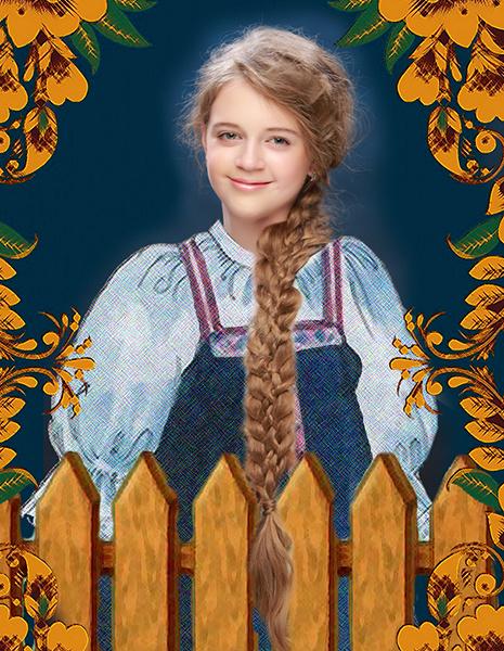 Надежда Токарева, «Уральская краса – русская коса», фото