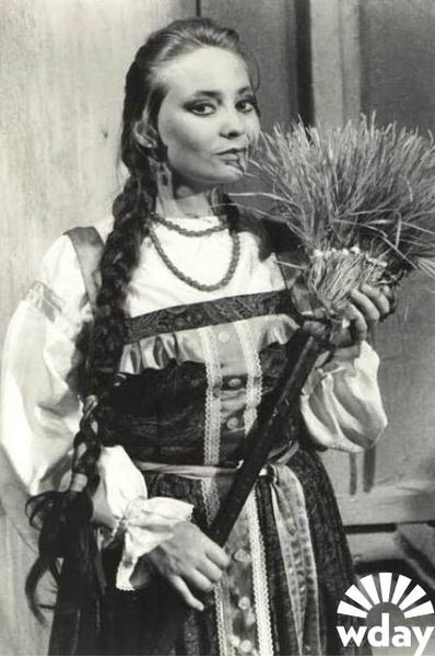 Светлана Пермякова в театре