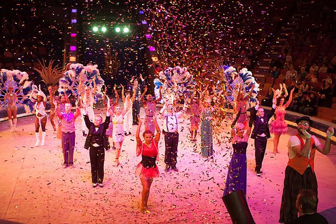 новая цирковая программа в Воронеже