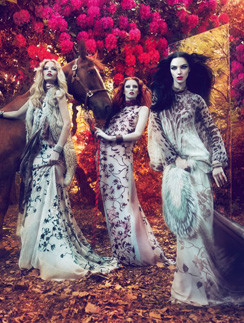 Рекламная кампания Roberto Cavalli, сезон осень-зима 2011/2012