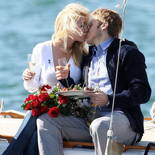 Хейди Монтаг и Спенсер Пратт: свидание на яхте (14 февраля 2008 года)
