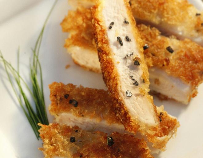 рецепты котлет из куриного фарша в духовке с фото