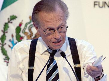 Ларри Кинг (Larry King) лично вручит премии в области электронных СМИ