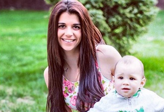 Алиана Гобозова с сыном фото