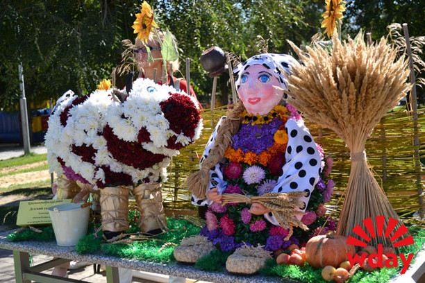 Выставка цветов в Волгограде