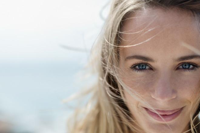 После нескольких циклов приема КОК состояние кожи улучшается