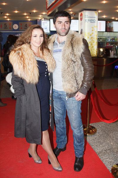 Анфиса Чехова с гражданским мужем