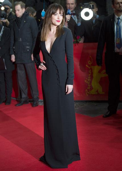Дакота Джонсон на Берлинском кинофестивале