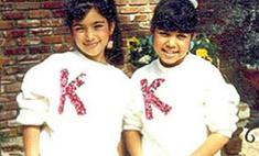 Ким Кардашьян показала детское фото