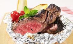 Готовим в фольге: говядина в духовке