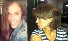 Таня Терешина нарастила волосы