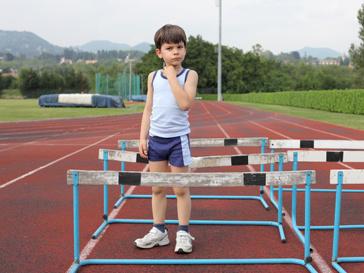 Мальчик-спортсмен