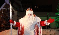 Дед Мороз из Великого Устюга зажег главную самарскую елку