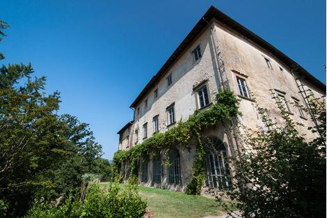 Вилла Марлия в Тоскане станет отелем | галерея [1] фото [12]