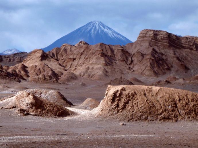 Лунная долина, Чили