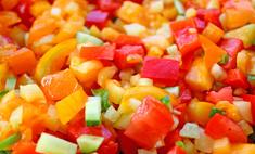 Овощные смеси: cостав, рецепты