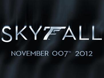Постер нового фильма о Джеймсе Бонде Skyfall