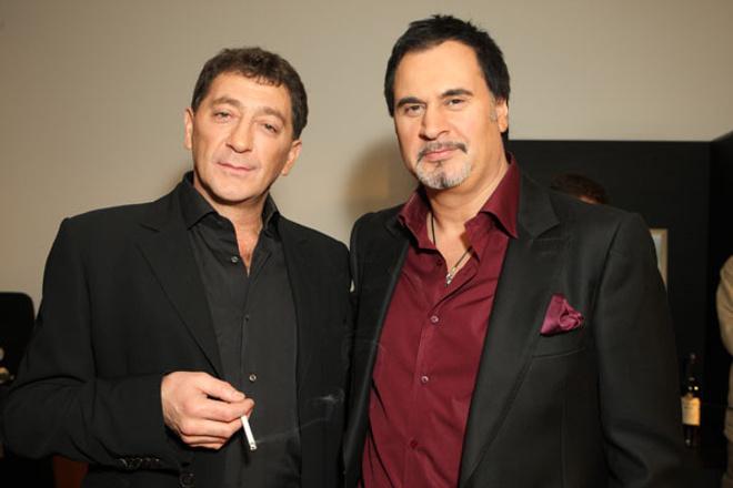 Валерий Меладзе и Григорий Лепс