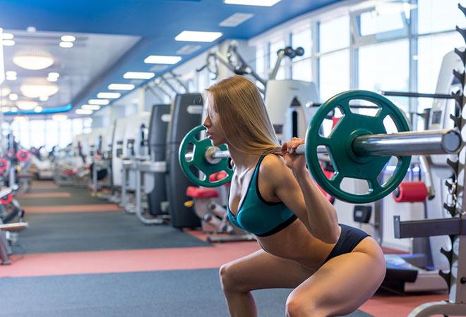 Комплекс упражнений для девушек