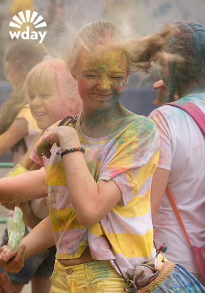 Фестиваль красок в Ростове-на-Дону 2015: фото