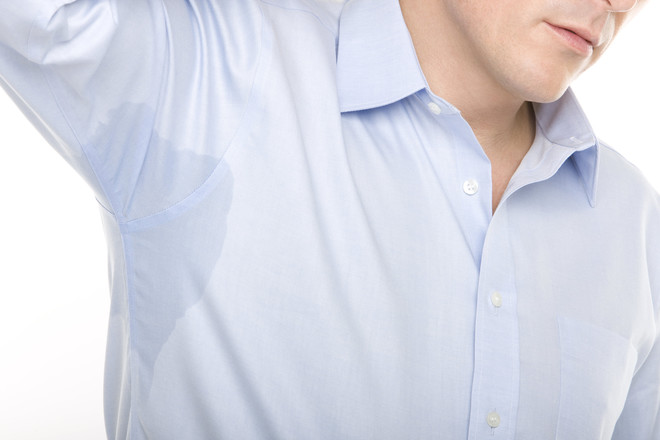 как удалить пот с одежды