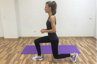 Упражнение для укрепления бедер