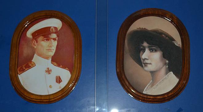 Александр Колчак и Анна Тимирева