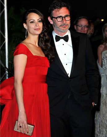 Беренис Бежо (Berenice Bejo) и Мишель Хазанавичус (Michel Hazanavicius)