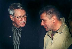Иван Краско с сыном Андреем Краско