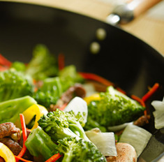 Блюда в воке: основные правила готовки