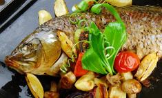 Сазан в фольге: готовим вкусную рыбу