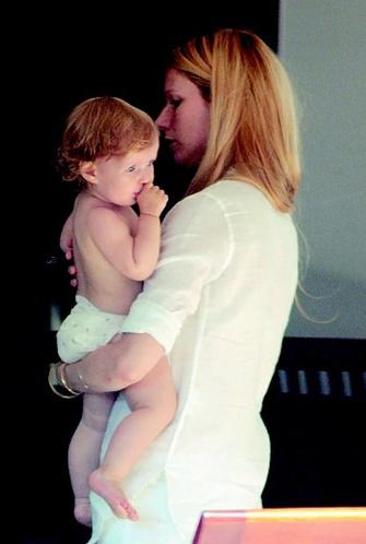 1996 год: с сыном Мозесом.