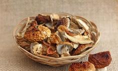 Готовим сухие грибы: пошаговая инструкция