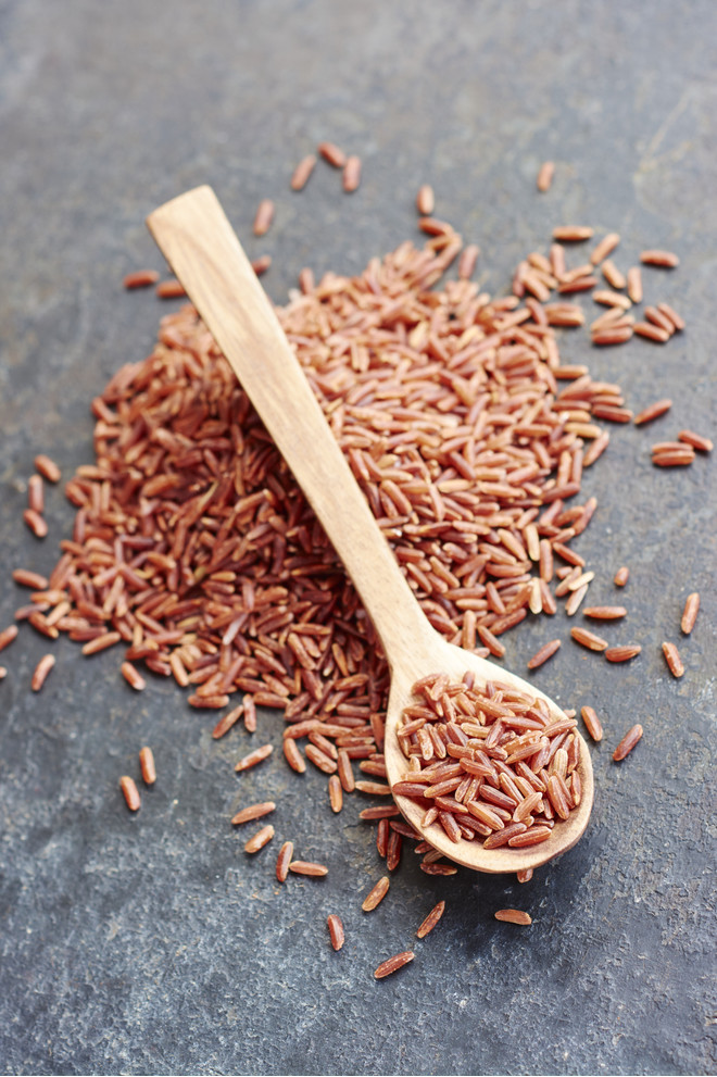 Польза красного риса