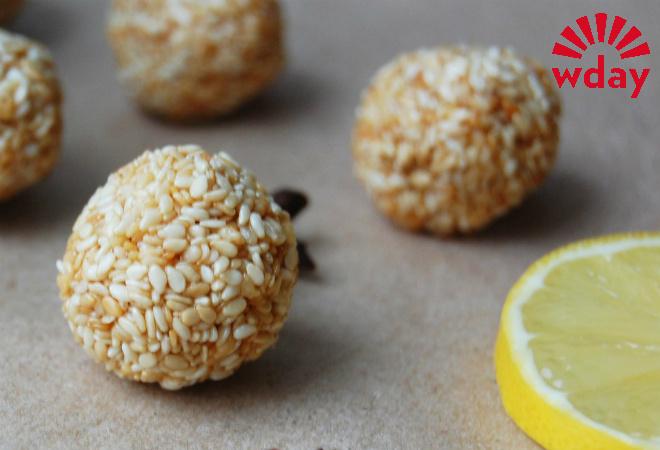 Постные конфеты из кунжута: рецепт фото