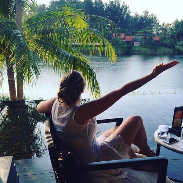 Семенович в Instagram доказывает фанатам, что не располнела