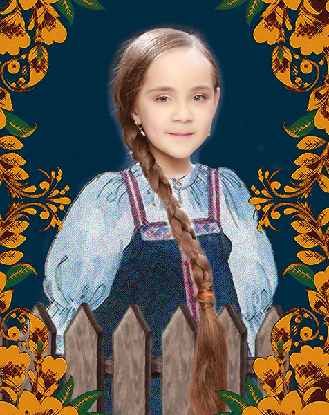 Арина Якименко, «Уральская краса – русская коса», фото